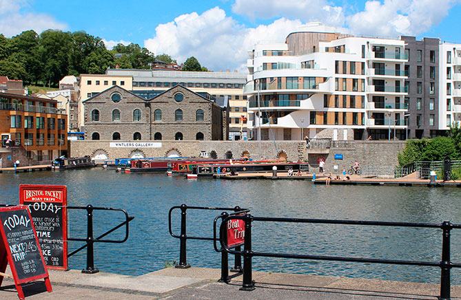 Mixed usage harbourside investment properties
